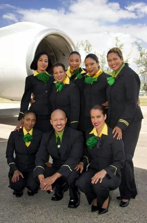 Fly Jamaica Airways crew looking fly. | Jamaica land we love ...