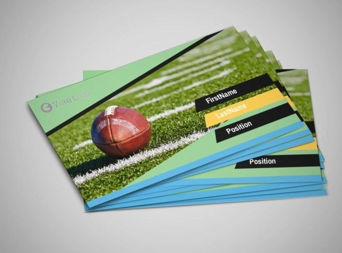 Football Camp Flyer Template | MyCreativeShop