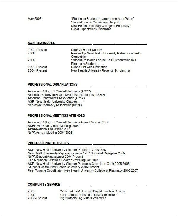 clinical pharmacist resume pharmacist resume template 6 free word