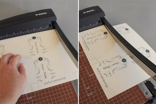 Elegant Place Card Template – Download & Print