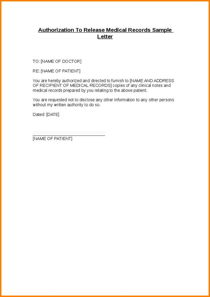10+ sample authorization letter | Letter Template Word