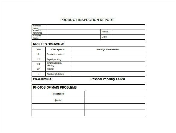 Production Report Template – 9+ Free Word, PDF Documents Download ...