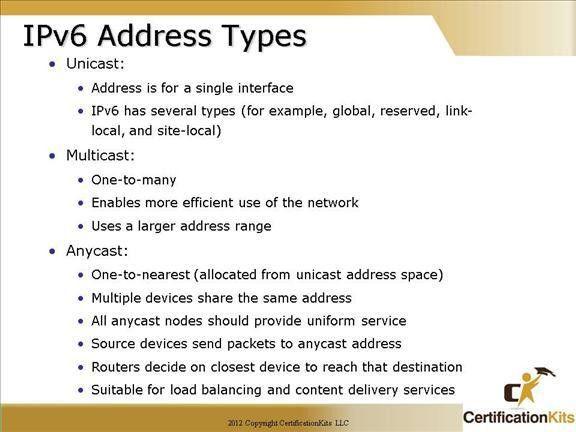 Cisco CCNA IPv6 Part I – CertificationKits.com
