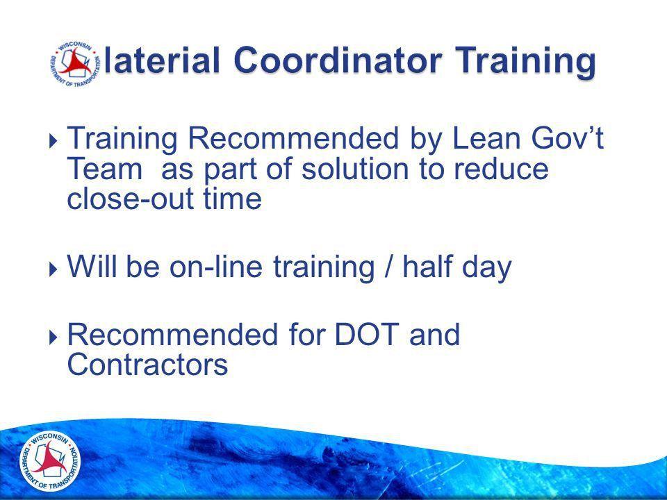Importance of Material Coordinators  Spec Requirement  CMM ...