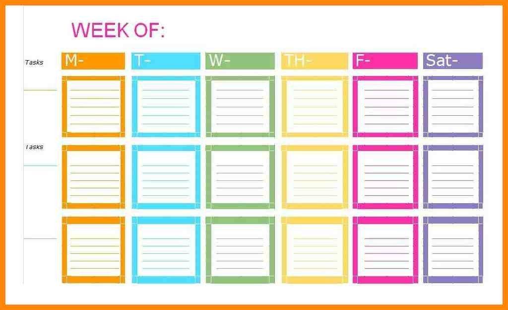 10+ weekly checklist template | nurse resumed