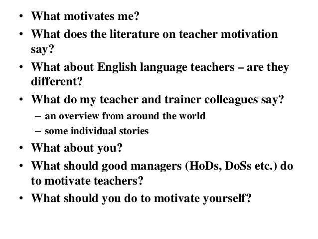 Dave Allan - Managing to motivate