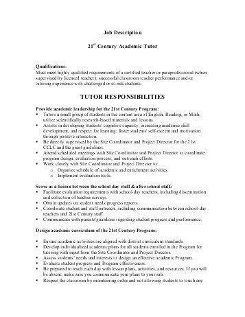 JOB DESCRIPTION: Main Scale Teacher and Form Tutor –