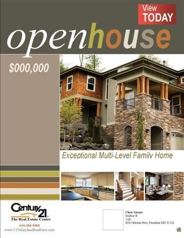 Flyers / Cover Pages - CENTURY 21® The Real Estate Centre | DTP ...