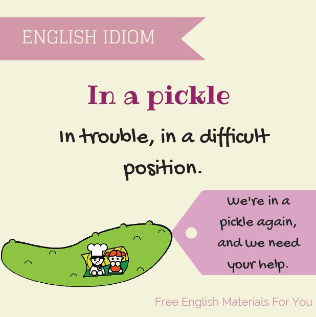 visual idioms – Free English Materials For You
