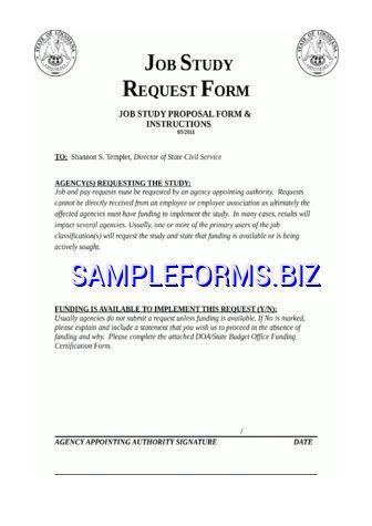 Job Proposal Template & samples forms