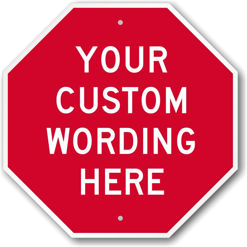 Custom Facility Signs - Best Selling | Long Lasting, Ships FREE