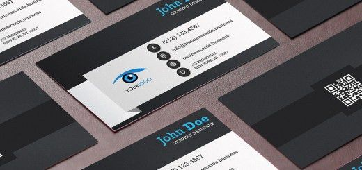 Free Programmer Business Card Template for Photoshop : Business ...