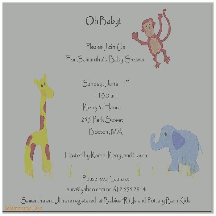 Baby Shower Invitation. Luxury Baby Shower Invitations Samples ...