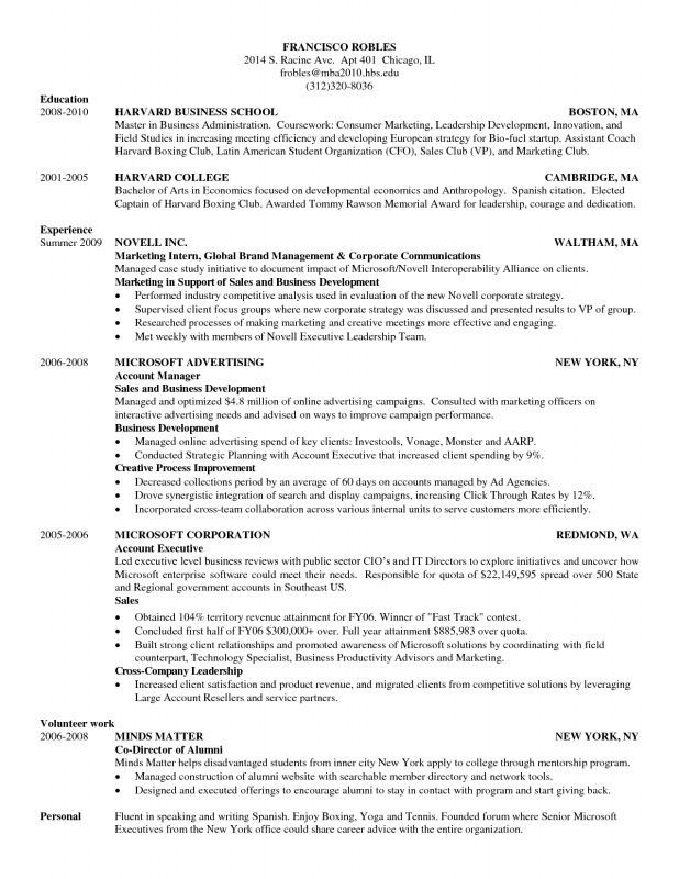 Pleasurable Ideas Harvard Resume Sample 15 Cover Letter Examples ...