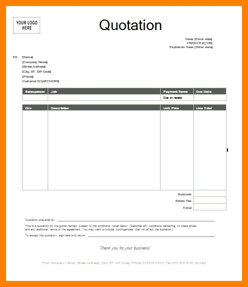 5+ quotation format word | addressing letter