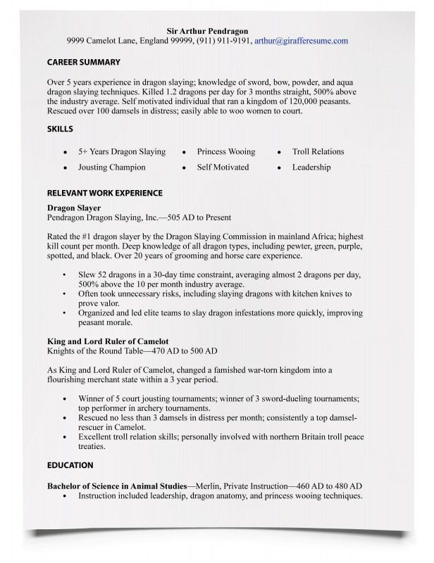 Download How Write A Resume | haadyaooverbayresort.com