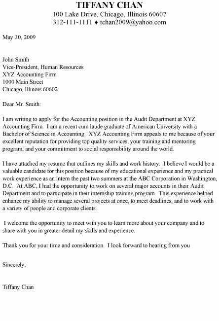 Groovy Careers : : Cover Letters