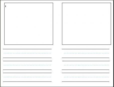 Comic Book inside template (must be printed on both sides ...