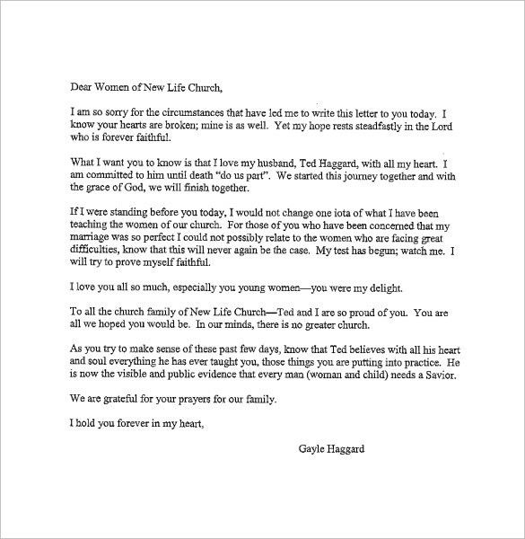 Love Letter To Husband. 12+ Love Letter Templates To My Husband ...