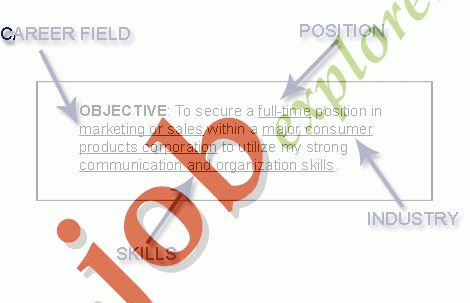 General Resume Objectives: Summary - Examples of Resume Objective