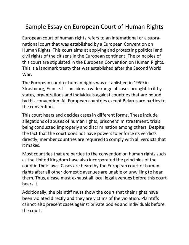 Essay. Human Rights Essay Writing Charles Lamb Essays Summary Jpg ...