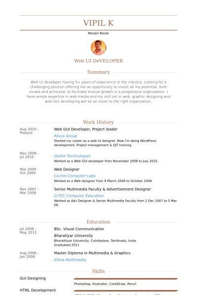 gui designer resume jennifer garnett resume uiux designer