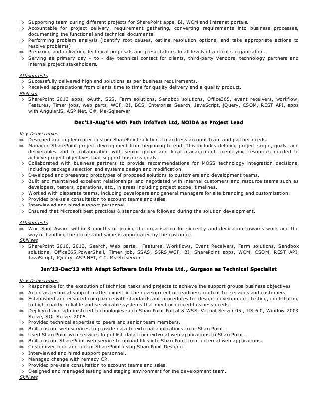 resume_munish_walia -Sharepoint Solution Architect