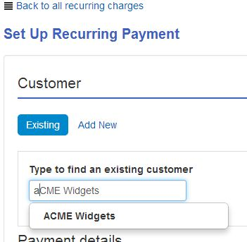 Create a recurring credit card payment - QuickBooks Learn & Support