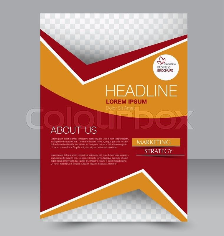 Abstract flyer design background. Brochure template. Can be used ...