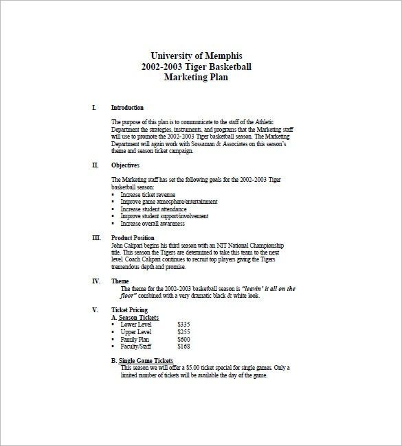 Event Marketing Plan Template – 16+ Free Word, Excel, PDF Format ...
