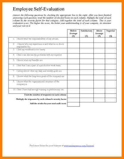 7+ sample employee evaluation forms | meal plan spreadsheet