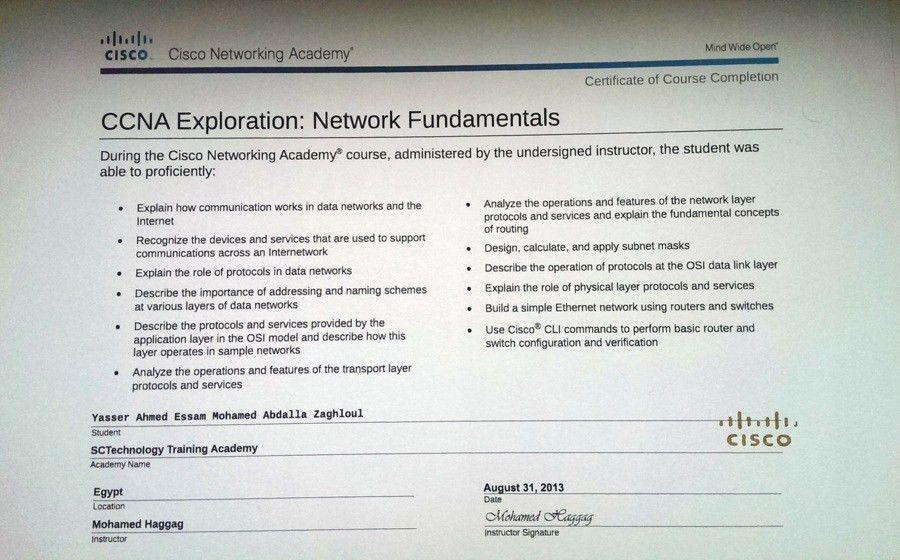 Cognos system administrator resume