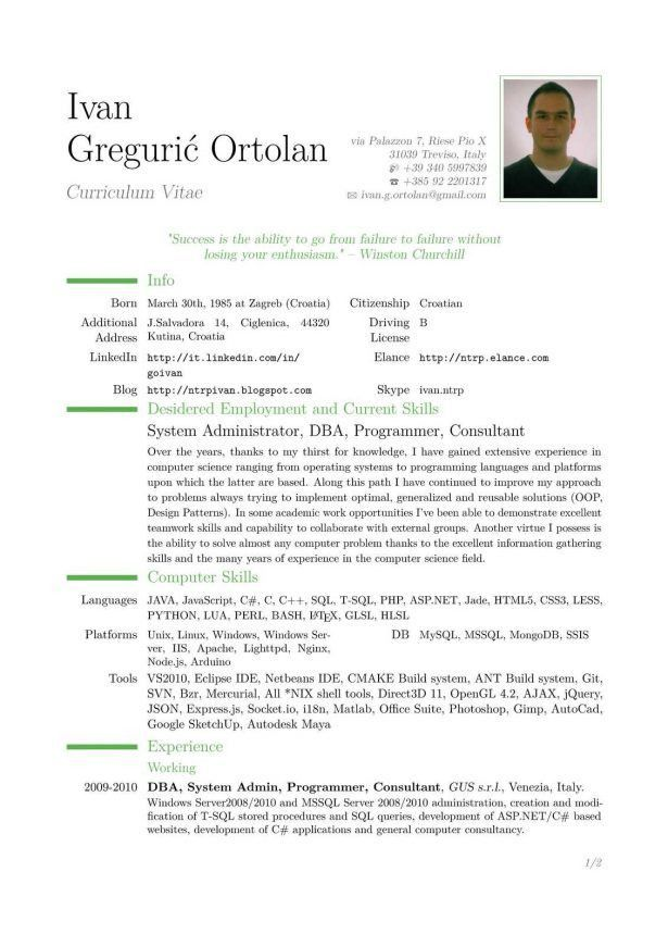 Curriculum Vitae : How To Write A References Page Resume Good ...
