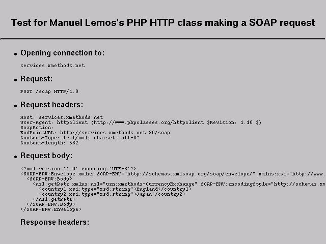 PHP HTTP protocol client: HTTP client to access Web site pages ...