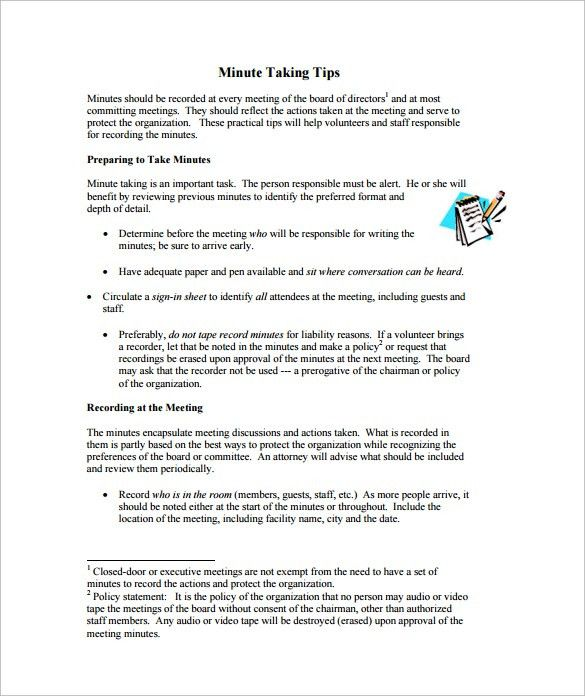 Taking Minutes Format Meeting Minutes Templates For Word 12 Taking