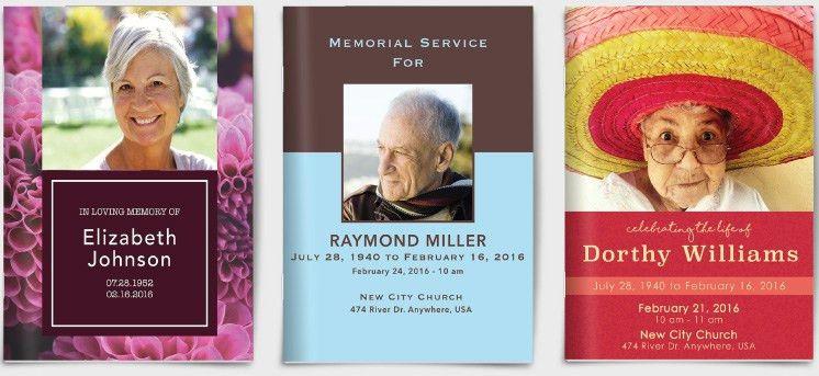 Funeral Program Printing   Printingcenterusa.com
