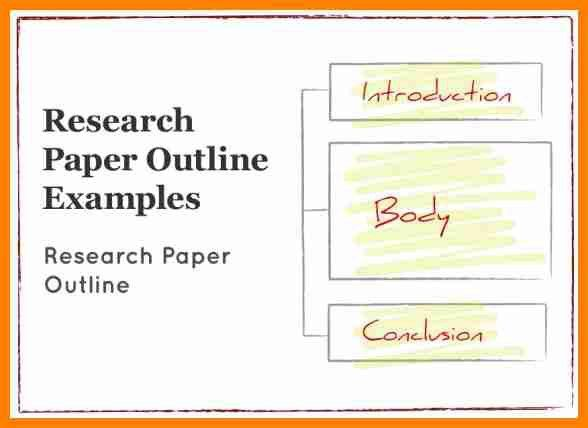 8+ research paper outline example | buyer resume