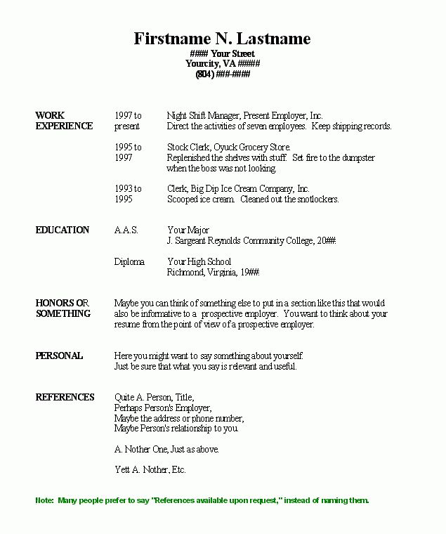 healthcare resume builder