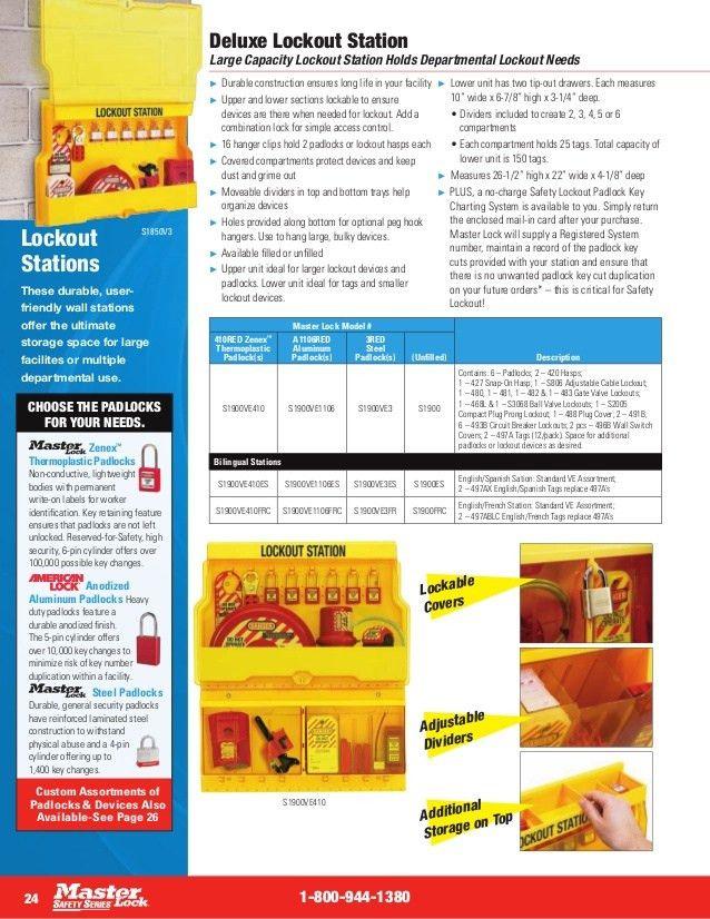Catalogue khoa LOTO (Lockout Tagout)_TIFACO