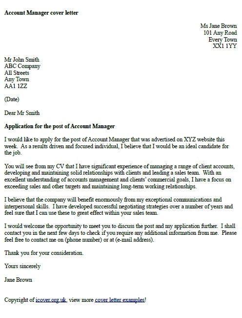 Job Application Covering Letter Format Uk - Mediafoxstudio.com