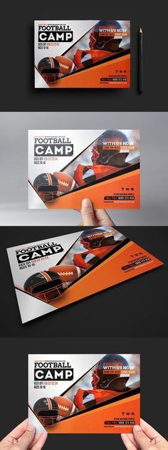 Flyer and other collateral for Hope Chapel's Sports Camp. #kids ...