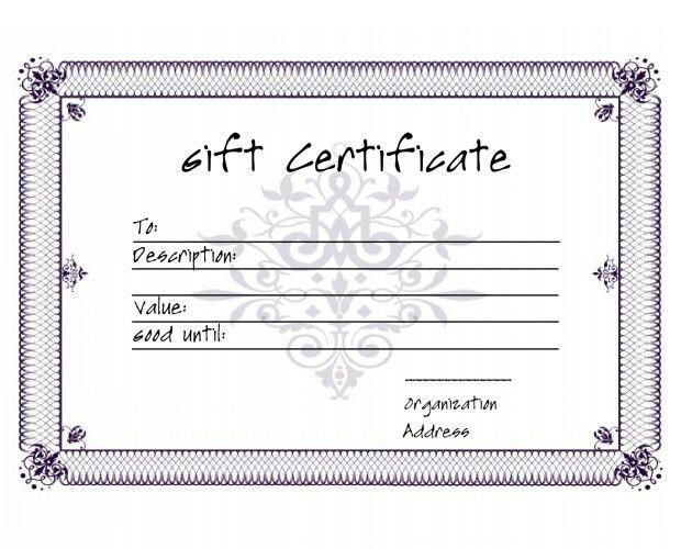 5+ Premium Gift Certificate Free Templates | Free & Premium Templates