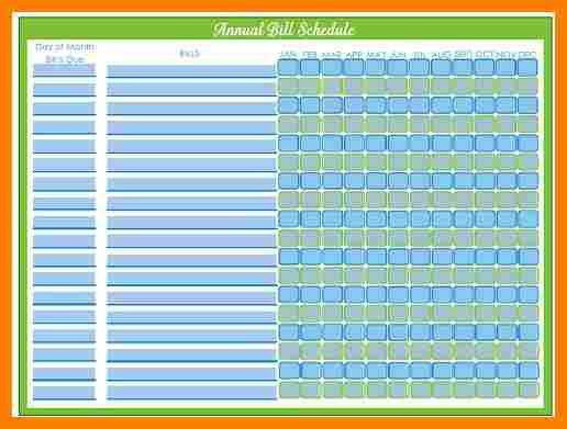 Bill Calendar. Blank 2017 Monthly Calendars Are Great For Tracking ...