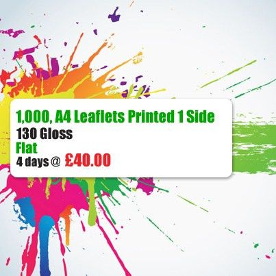 Londontrade print offers quality cheap Leaflets printing, flyers ...