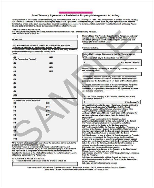 34+ Printable Agreement Templates | Free & Premium Templates