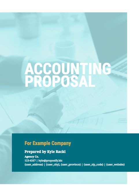 Free Business Proposal Templates - Proposify