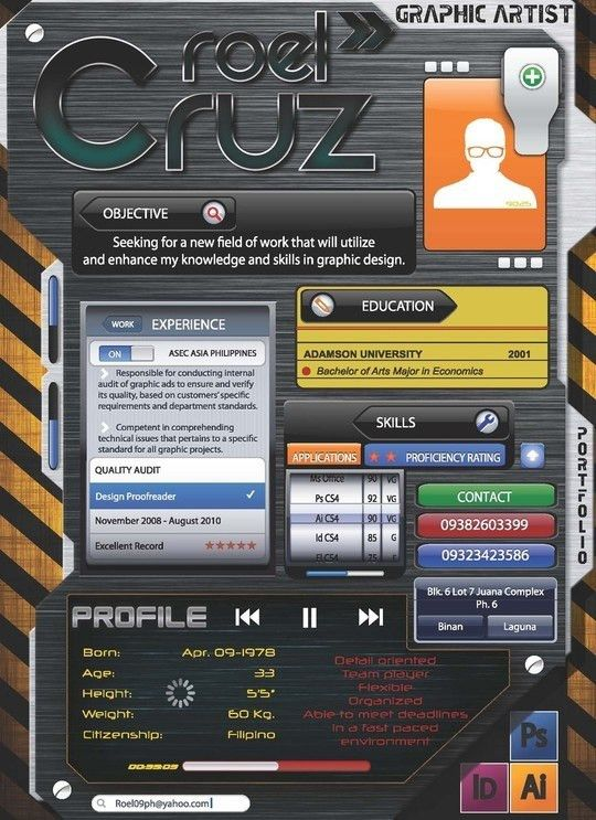 Stunningly Innovative Resume Designs You May Have Never Seen ...