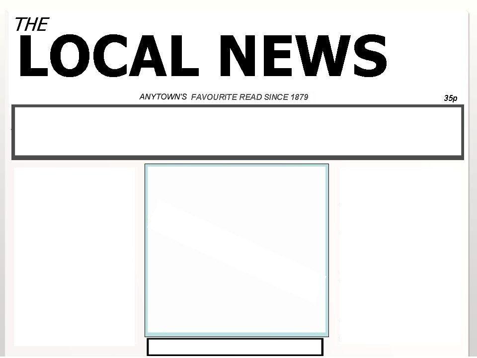 Blank Newspaper Template | aplg-planetariums.org