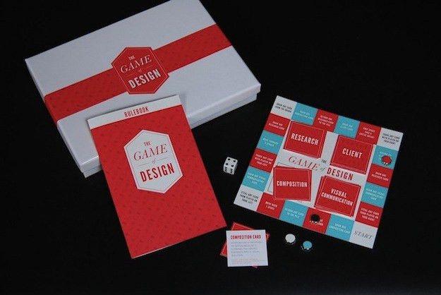 Graphic Designer Creates A Board Game Resume [Pics] - PSFK