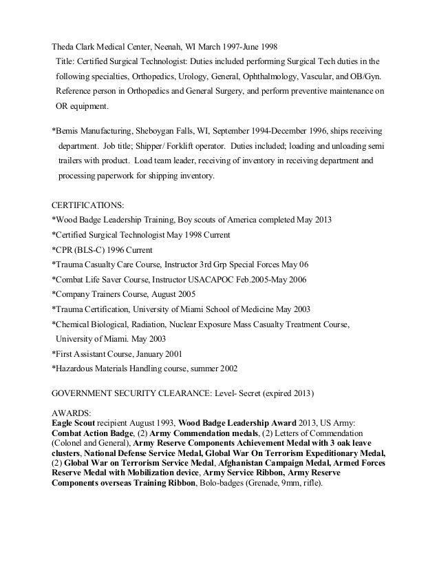 Derek's Resume 2014